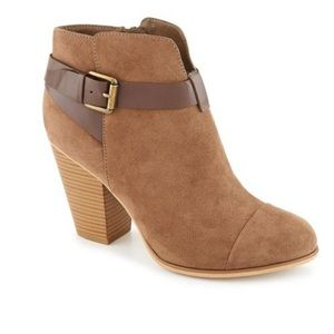 BROWN SUADE JENA ANKLE BOOT